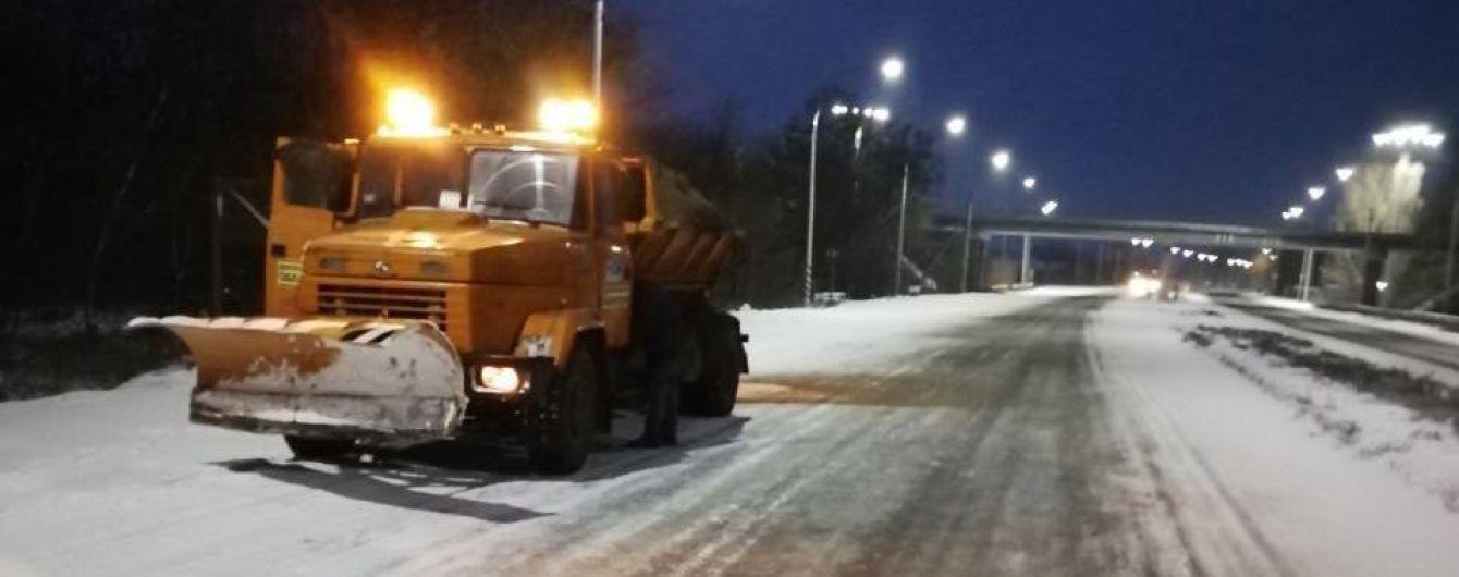 Непогода в Украине. В Черкасской области сняли ограничения для движения грузовиков