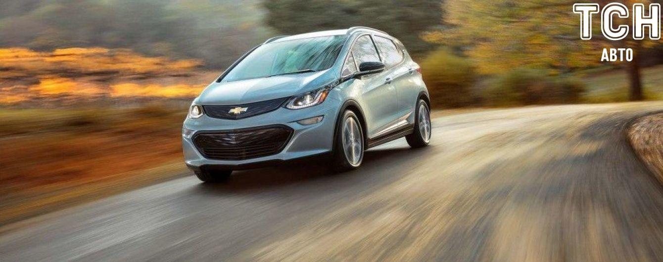 Chevrolet Bolt в новом поколении подешевеет на десять тысяч долларов