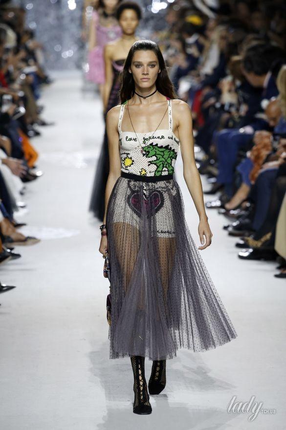 Коллекция Christian Dior прет-а-порте сезона весна-лето 2018_19