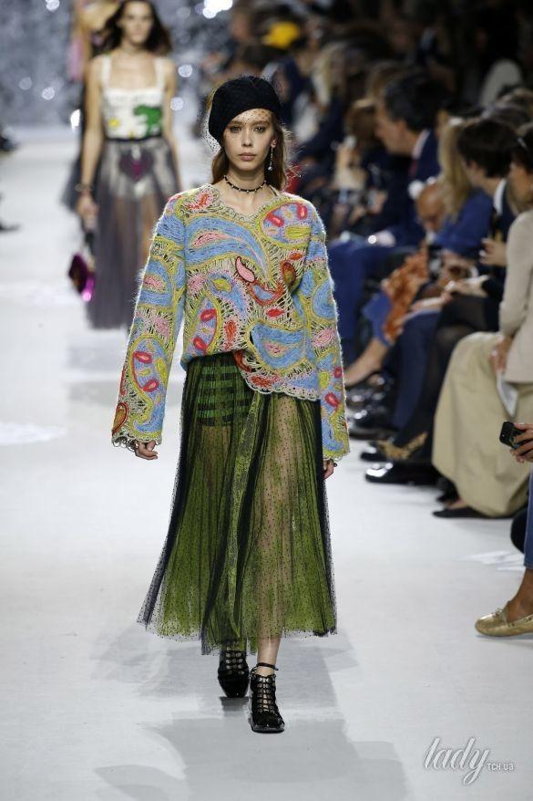 Коллекция Christian Dior прет-а-порте сезона весна-лето 2018_18