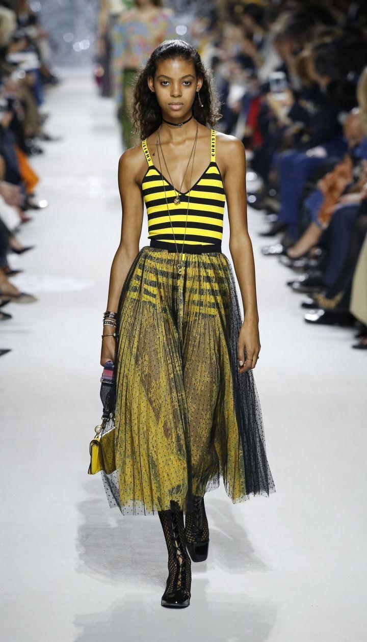 Коллекция Christian Dior прет-а-порте сезона весна-лето 2018 @ East News