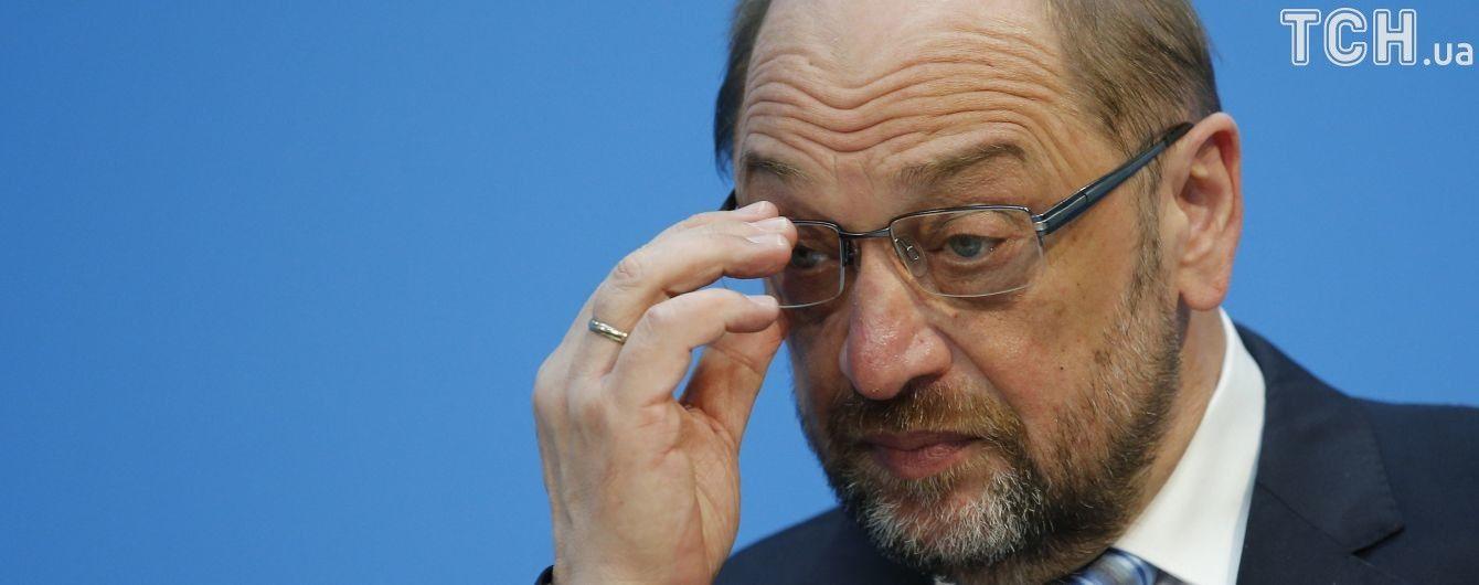 Шульц відмовився очолити МЗС Німеччини