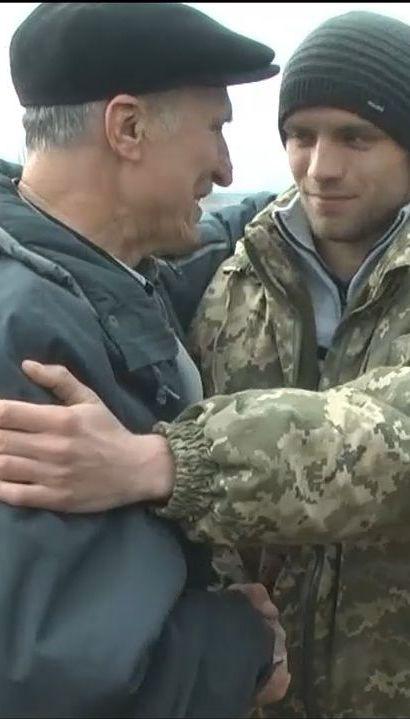 На Запорожье юноша вытащил из-под льда 70-летнего дедушку
