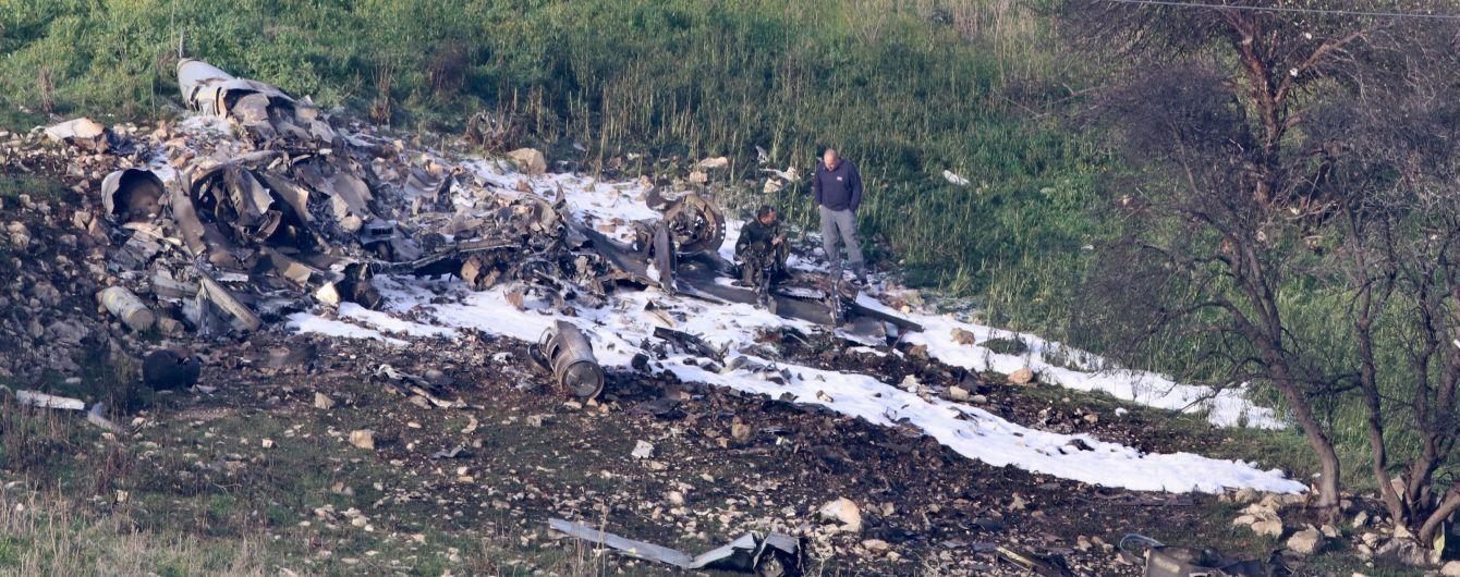 Жорстока відповідь на збитий винищувач: ізраїльські літаки знищили понад 10 іранських цілей в Сирії
