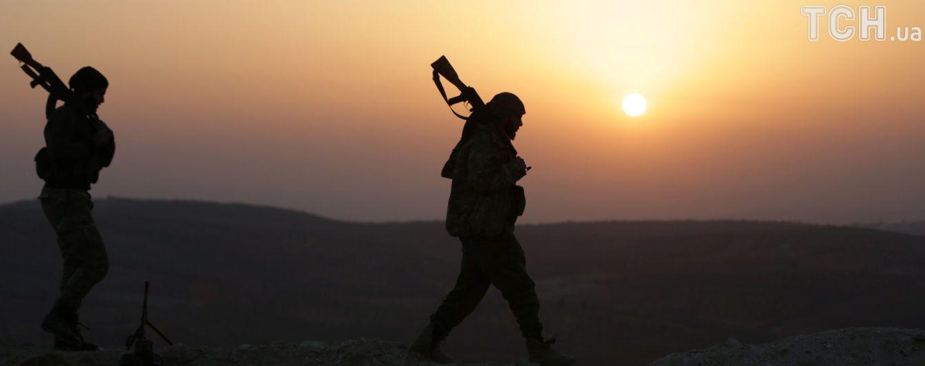 В Сирии курды сбили турецкий вертолет, двое погибших