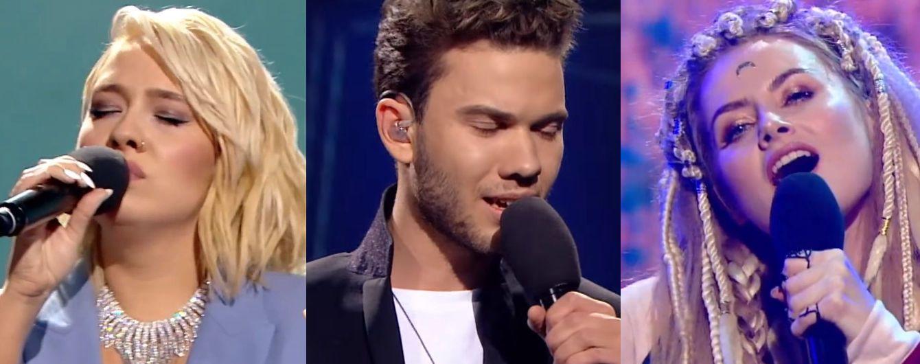 """""""Евровидение-2018"""": какими были выступления трех первых финалистов нацотбора"""
