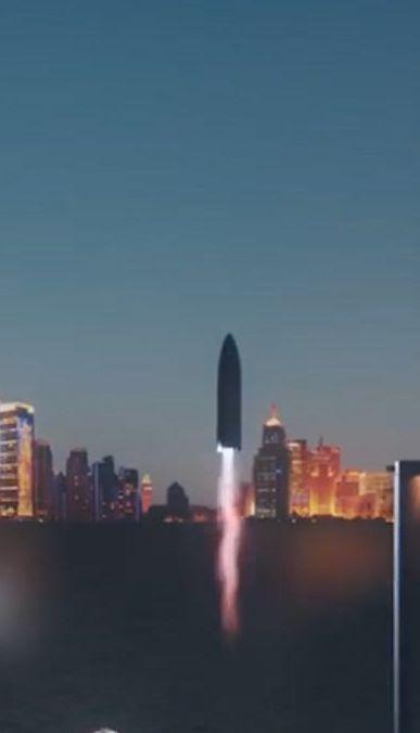 Илон Маск планирует построить крупнейшую в мире ракету, которая доставит сотни людей на Марс и Луну