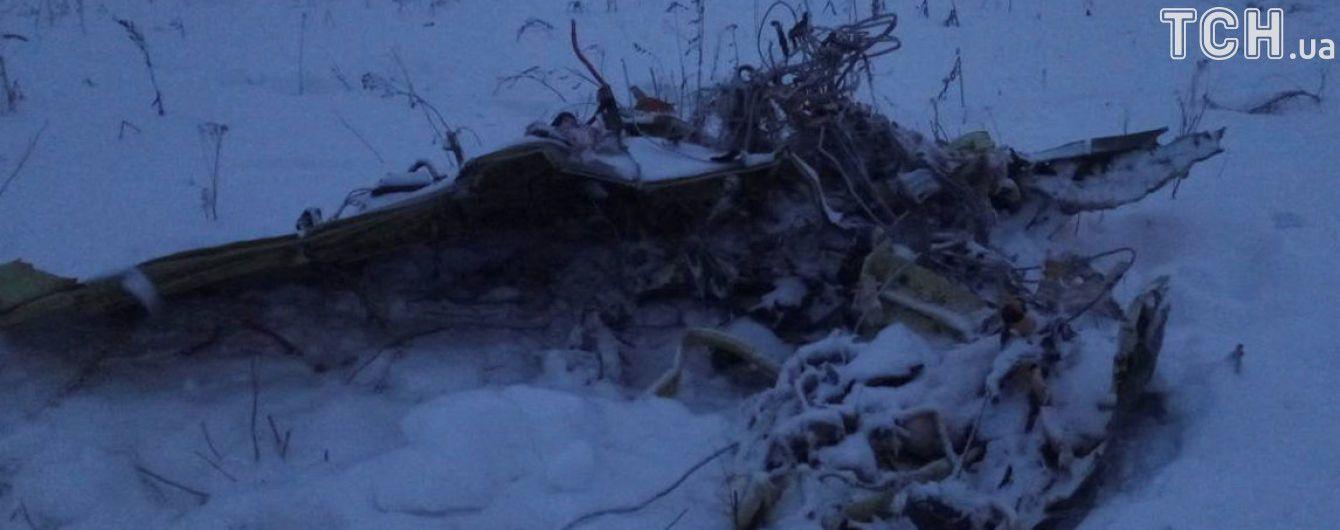 Російська влада призначила компенсацію загиблим в авіакатастрофі під Москвою