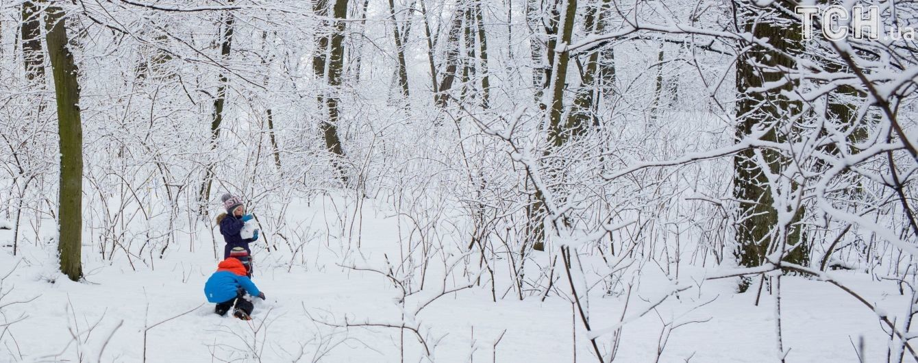 У четвер Україну притрусить снігом. Прогноз погоди на 15 лютого