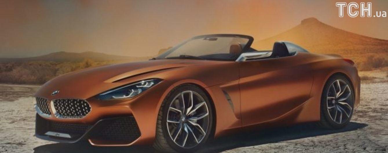 """В Сети """"засветился"""" новый родстер BMW"""