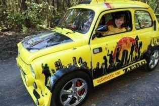 """Собранный из 12 машин """"горбатый """"Запорожец"""" поедет покорять фестиваль тюнинга в Германии"""