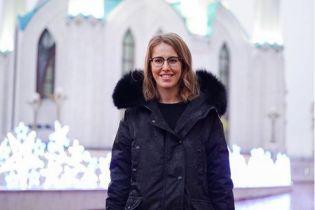 Ксения Собчак впервые показала архивное фото новорожденного сына