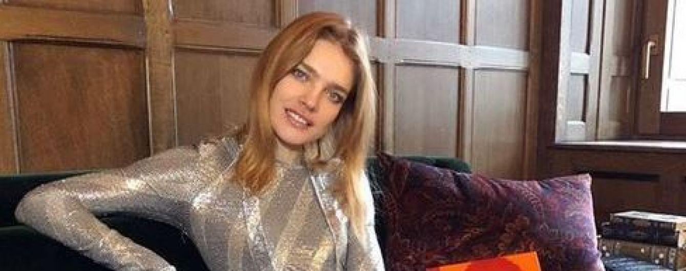 Показала прокладку: зачем Наталья Водянова опубликовала провокационное фото