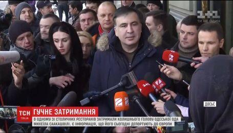 Саакашвили могут депортировать в Польшу