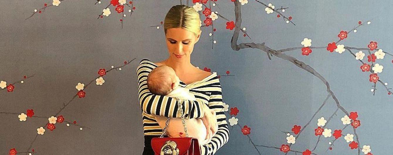 Ники Хилтон впервые опубликовала фото со своей младшей дочерью