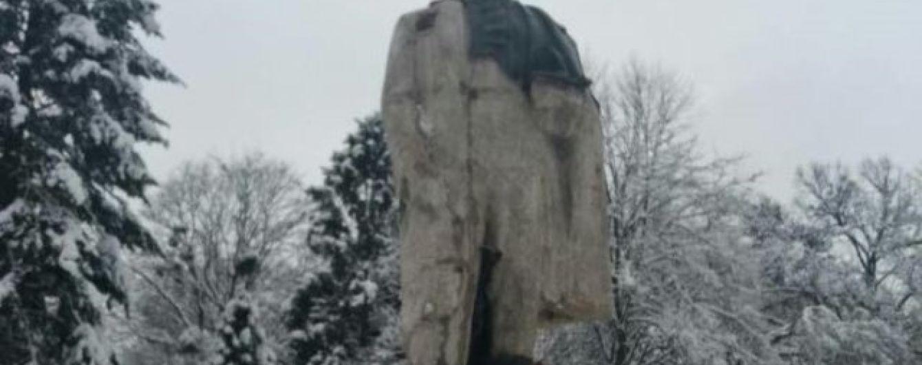 В Стрые отыскали пропавшую голову памятника Тарасу Шевченко