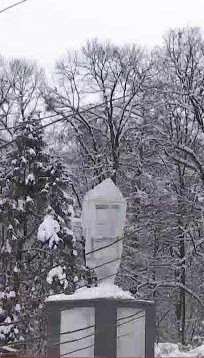 На Львовщине поймали вандалов, которые отрезали голову памятнику Шевченко