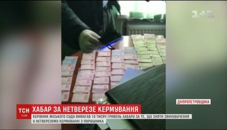 Суддю на Дніпропетровщині спіймали на хабарі