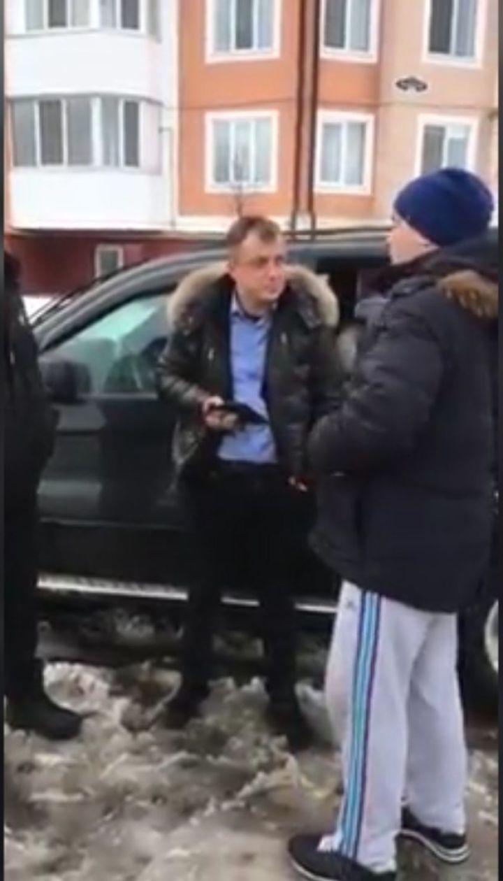В Буче нетрезвый водитель BMW разбил две машины