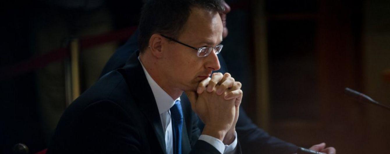 """""""Позорная картина"""". Сийярто раскритиковал Брюссель за отношение к закарпатским венграм"""