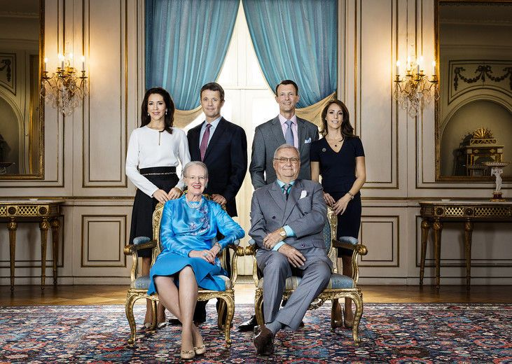 королівська сім'я, Данія
