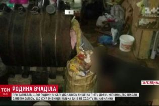 На Харьковщине семью, которая погибла от угарного газа, обнаружили через несколько дней после смерти