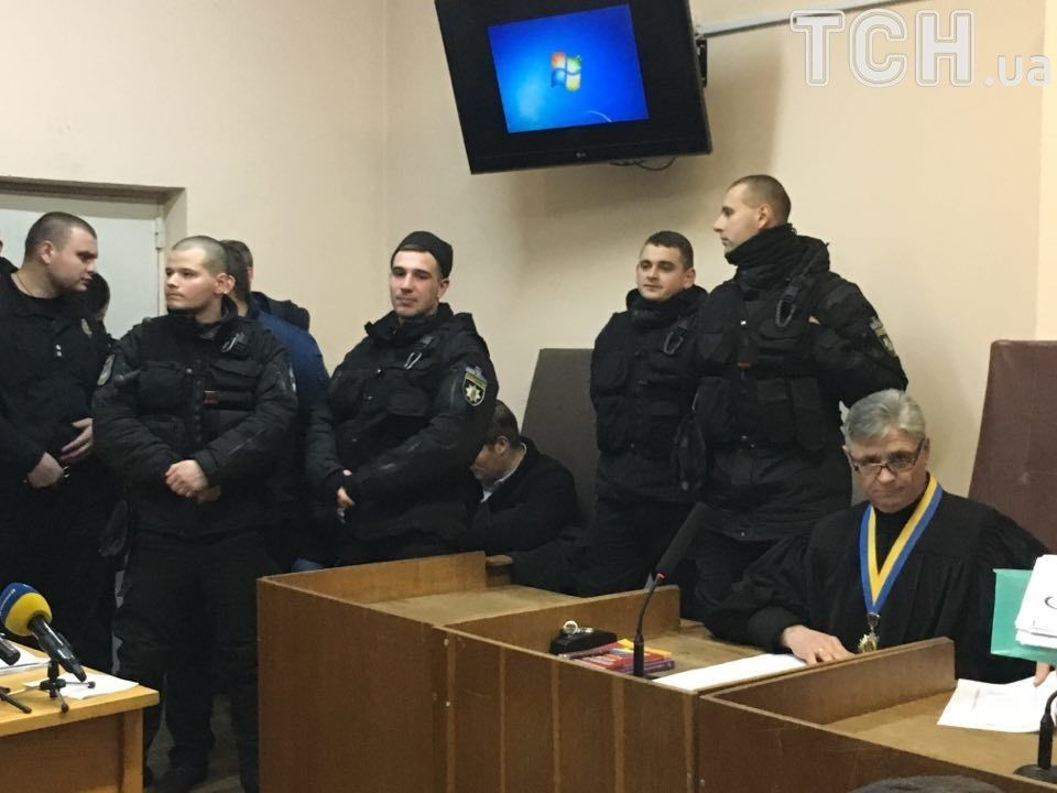 Спецпризначенці на суді над Трухановим