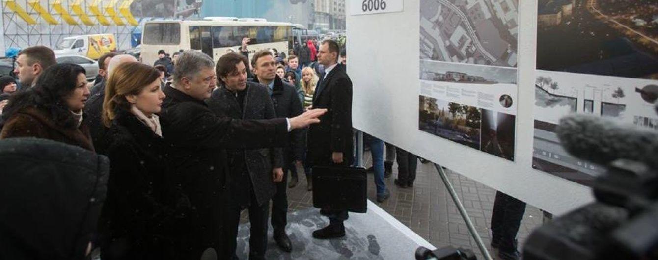 Мемориал Героям Небесной сотни. Как выглядят проекты, которые представили на Майдане