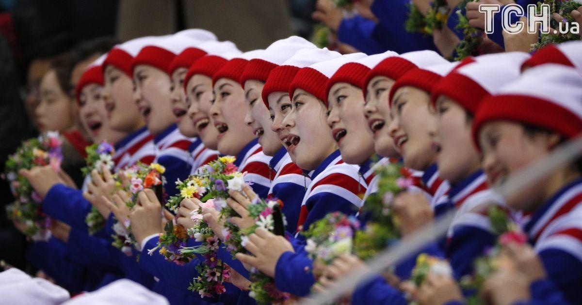 Чирлідерки Северной Кореи @ Reuters