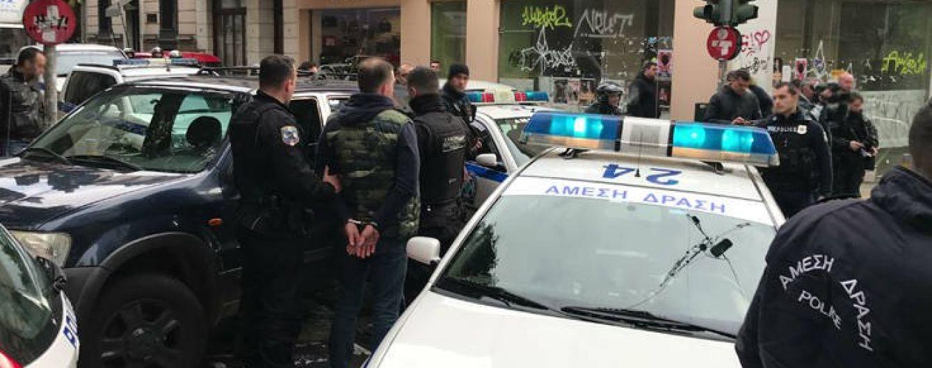 """В Греции на ультрас """"Динамо"""" напали российские фанаты"""