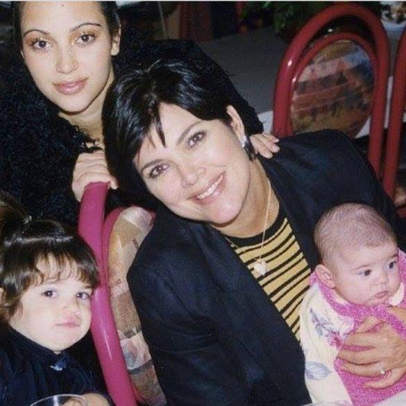 Крисс Дженнер с детьми