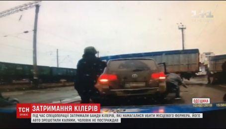 На Одещині поліцейські затримали групу кілерів, які намагалися вбити місцевого підприємця