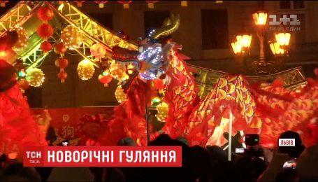 Китайский Новый год громко отмечают во Львове