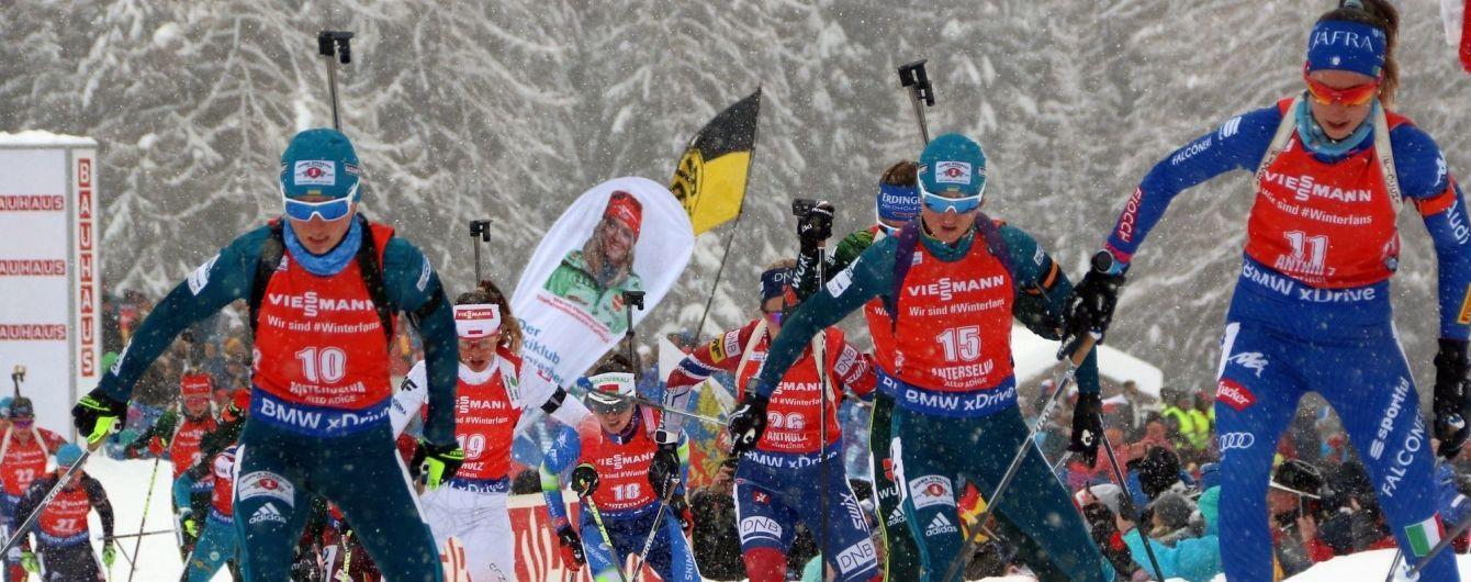 Биатлон. Вита Семеренко финишировала в топ-10 в спринте на Кубке мира