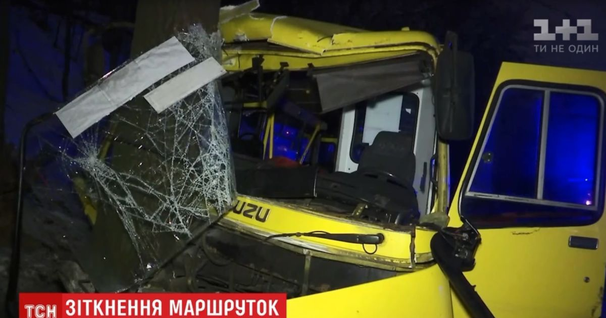 Паники не было: пассажирка рассказала о киевской ДТП с участием двух автобусов на улице Телиги