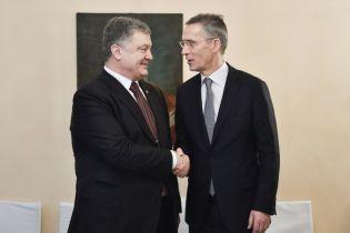 Порошенко в Мюнхене встретился с генсеком НАТО