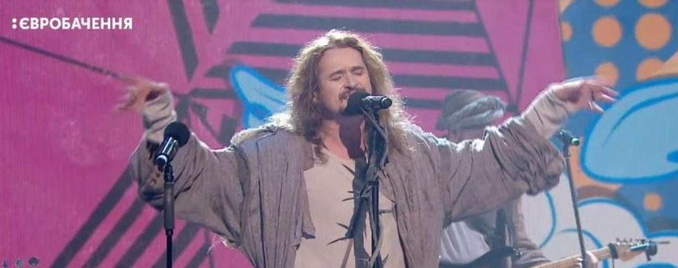 """""""Евровидение-2018"""": Yurcash в образе Иисуса спел на сцене нацотбора в громкоговоритель"""