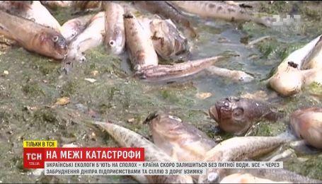 Приближение катастрофы: экологи заявили о критическом загрязнения Днепра