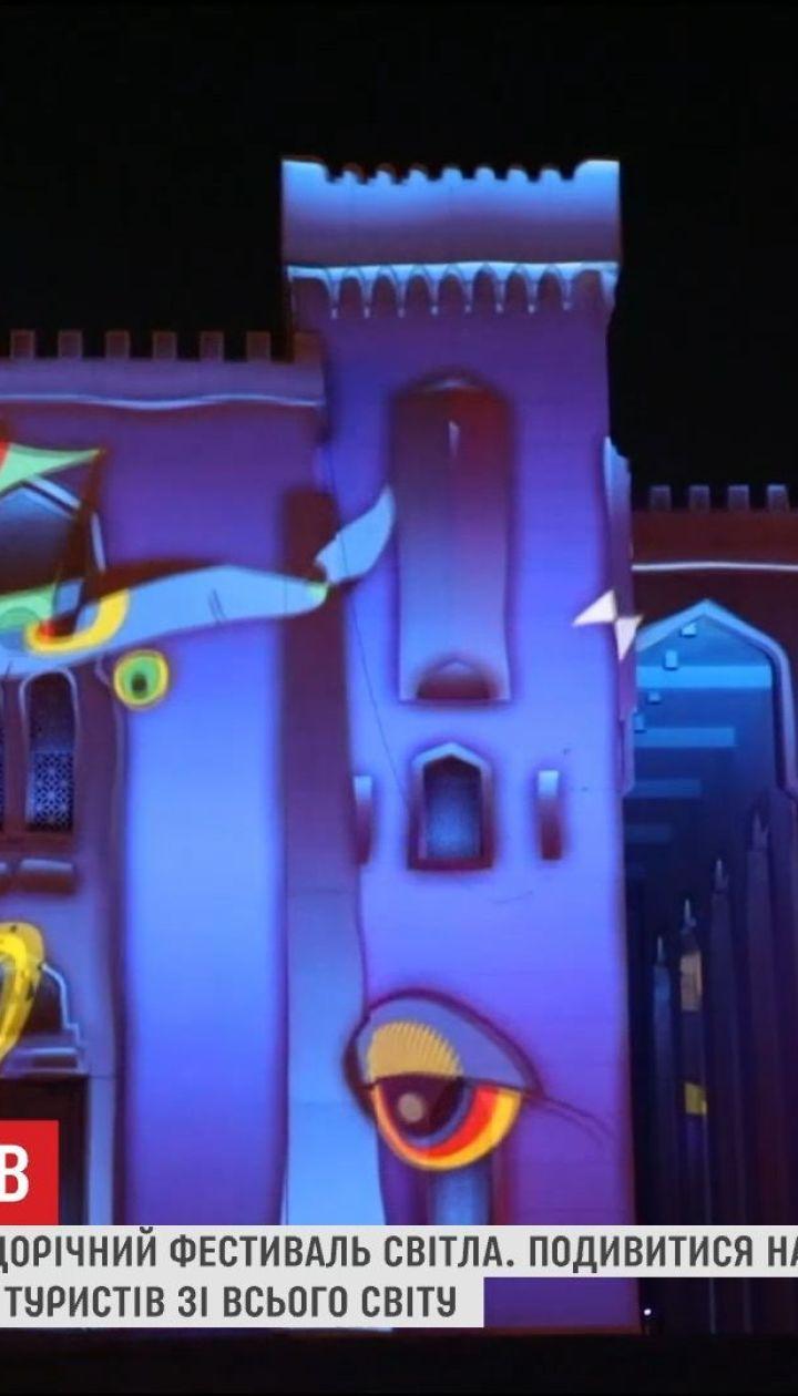 Фестиваль світла в ОАЕ зібрав рекордну кількість глядачів