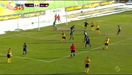 Сталь - Александрия - 2:0. Видео матча