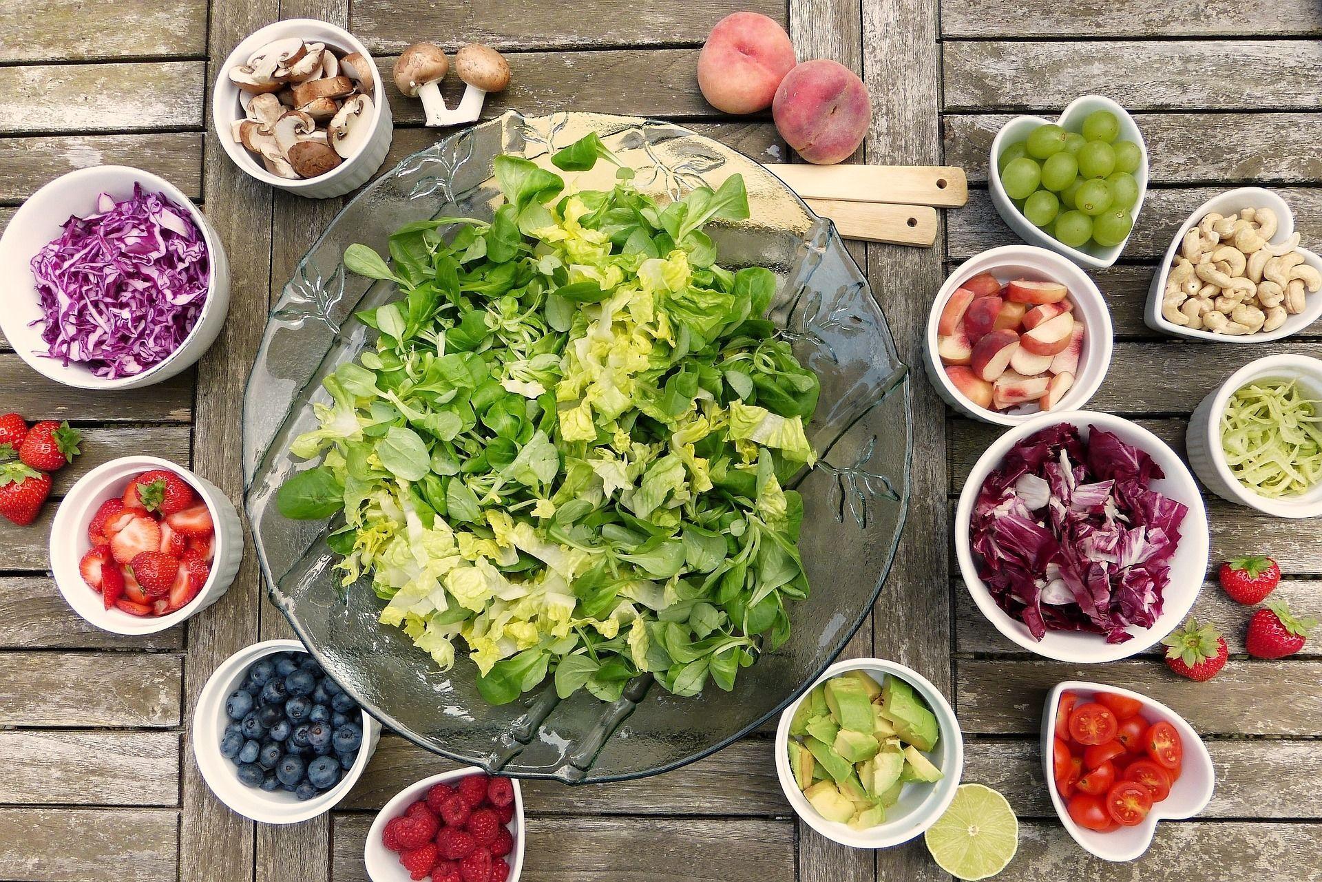 веганська їжа, овочі, їжа, дієта