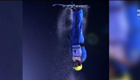 Лыжный акробат Александр Абраменко получил золото во фристайле