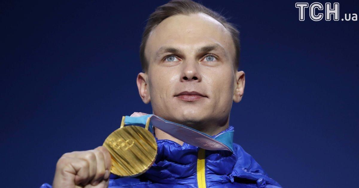 Олександр Абраменко отримав золоту медаль Олімпійських ігор у Пхенчхані @ Reuters