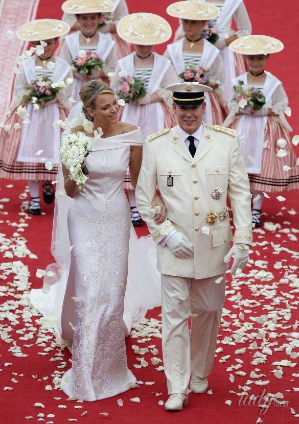 Свадебные платья королев и принцесс_5