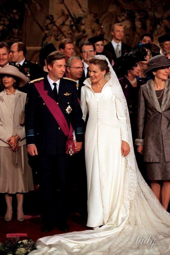 Свадебные платья королев и принцесс_2