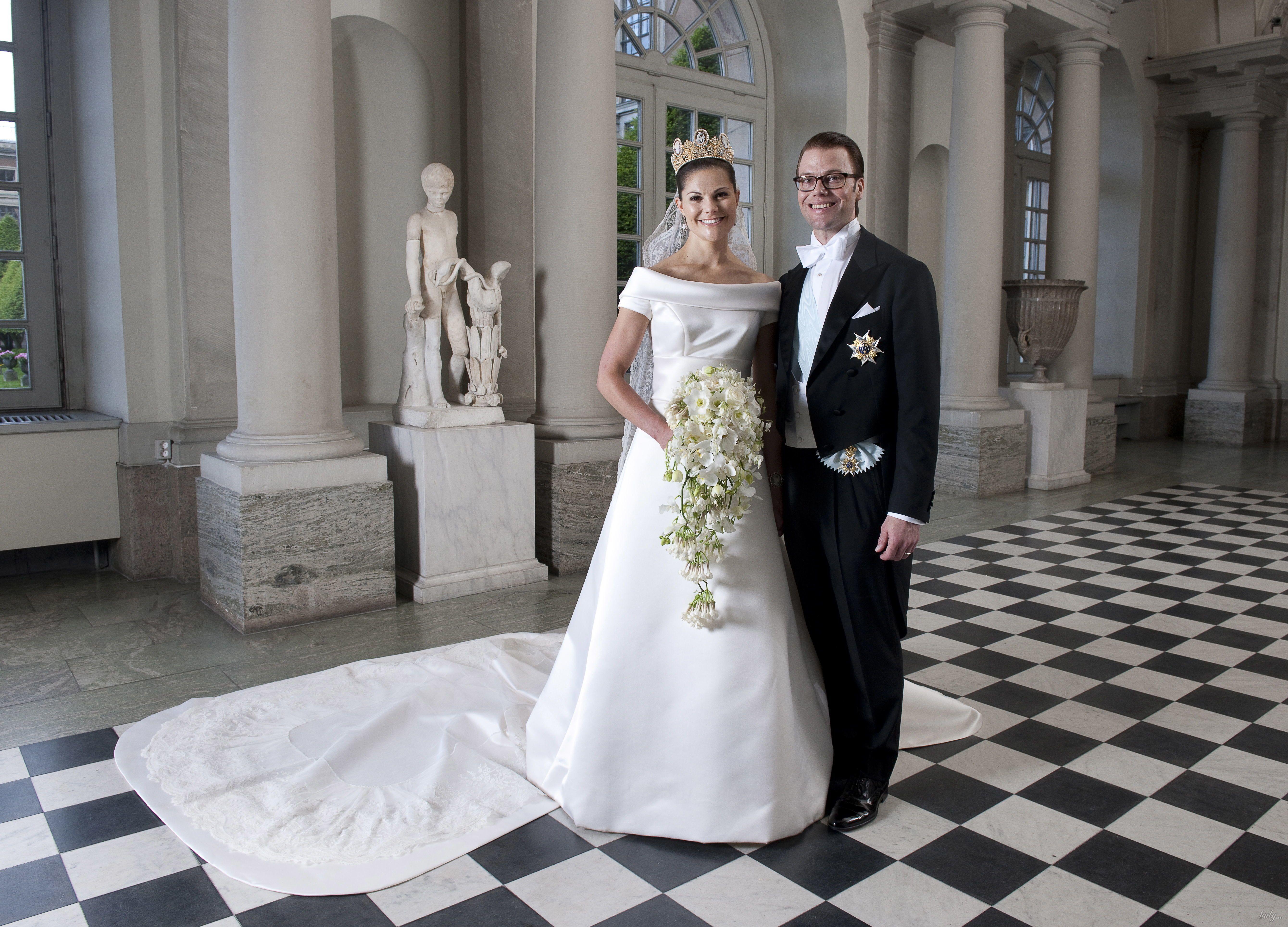 Свадебные платья королев и принцесс_3