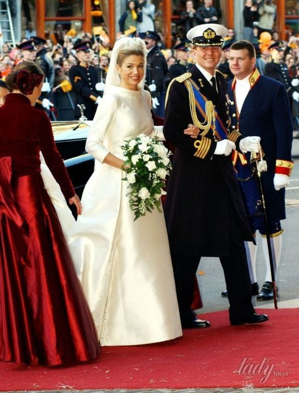 Свадебные платья королев и принцесс_11