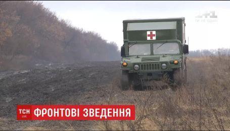 Сутки в АТО: один украинский воин погиб и четверо получили ранения