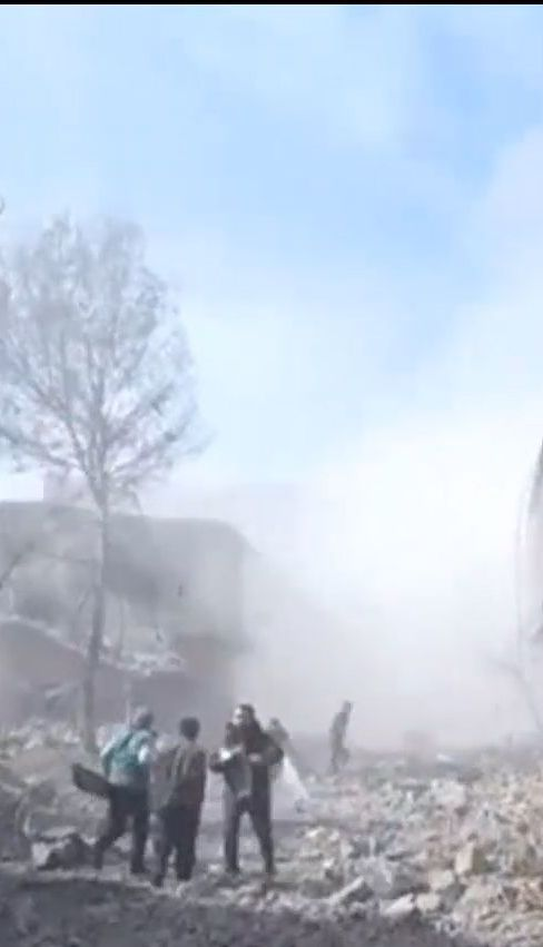 У Сирії зросла кількість жертв авіаційного та артилерійського удару урядових сил