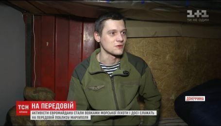 Воины, которые начали битву с тиранией на Майдане, продолжают защищать Украину на фронте